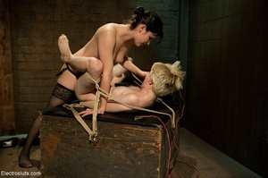 Lovable blonde likes rough play during a - XXX Dessert - Picture 10