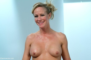 MILF removes her flirty black and white  - XXX Dessert - Picture 12