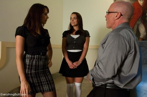 Sexual cavorting in the classroom daunts - XXX Dessert - Picture 5
