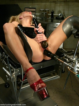 When girl starts to use sex toy, she wants more and more - Picture 9