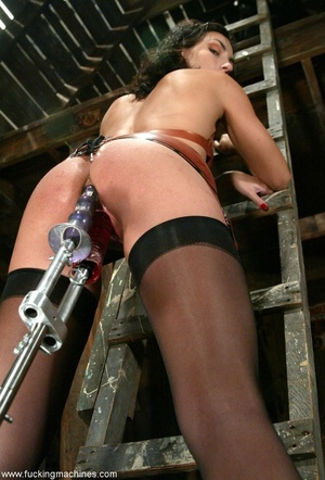 Elegant peach likes to spend time in the old dark stable - XXXonXXX - Pic 8