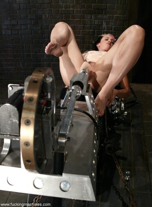 Ardent babe really loves bikes and fucking machines - XXXonXXX - Pic 14