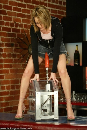 Skinny bartender has fun only when nightclub is closed - XXXonXXX - Pic 1