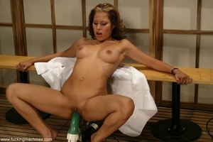 Sauna is a nice place for dirty masturbation action - Picture 7