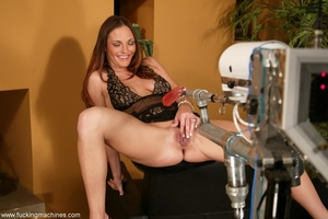 The robot fucks well-shaped lady better than any male - XXXonXXX - Pic 3