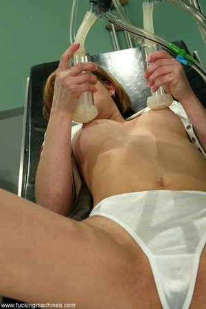 Red-haired babe is surprised with such medical procedures - XXXonXXX - Pic 3