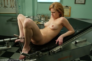 Red-haired babe is surprised with such medical procedures - XXXonXXX - Pic 17