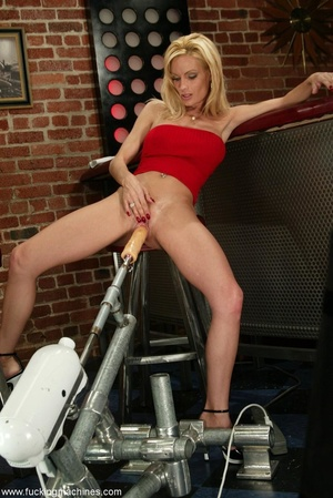 Girl has custom built sex machine with a remote control - XXXonXXX - Pic 6