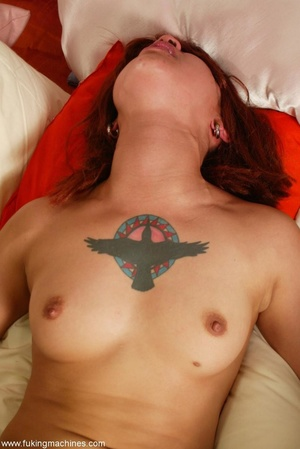 Redhead Latina rides sybian machine like never before - XXXonXXX - Pic 9
