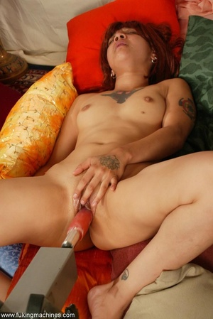 Redhead Latina rides sybian machine like never before - XXXonXXX - Pic 13