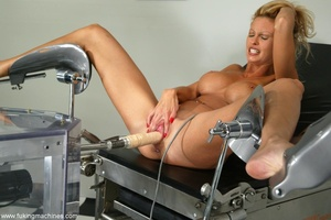 Perfectly-looking pornstar is trying few sex machines - XXXonXXX - Pic 9