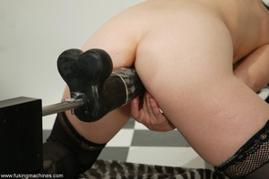 Mature dame experiences masturbation with designed machine - XXXonXXX - Pic 12