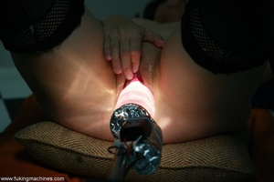 Mature dame experiences masturbation with designed machine - XXXonXXX - Pic 15