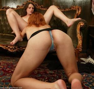Magnificent lesbians perform masturbation experiments - XXXonXXX - Pic 4