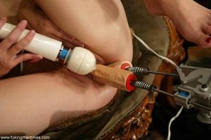 Magnificent lesbians perform masturbation experiments - XXXonXXX - Pic 13