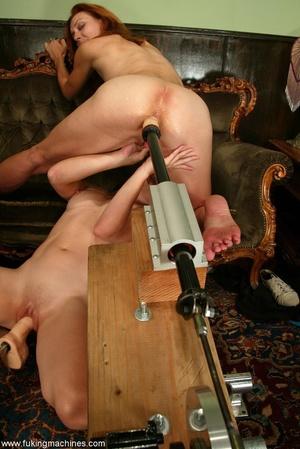 Magnificent lesbians perform masturbation experiments - XXXonXXX - Pic 17