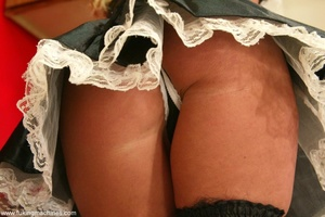 Seductive maid found sex machines of the apartment's owners - XXXonXXX - Pic 1
