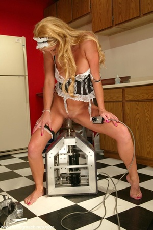 Seductive maid found sex machines of the apartment's owners - XXXonXXX - Pic 3