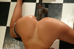 Seductive maid found sex machines of the apartment's owners - XXXonXXX - Pic 15