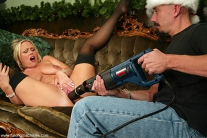 Santa makes miracles for a good girl by the Christmas tree - XXXonXXX - Pic 6
