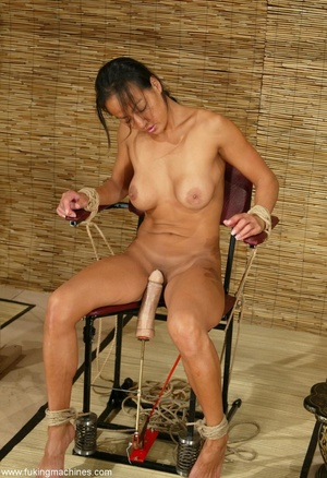 Asian cutie gets her puss banged by the powered dildo - XXXonXXX - Pic 7