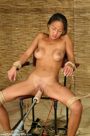 Asian cutie gets her puss banged by the powered dildo - XXXonXXX - Pic 10