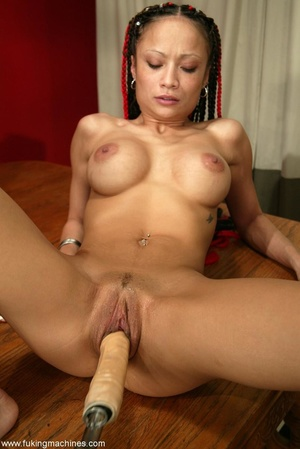 Latina model is ready to take part in fucking machine action - XXXonXXX - Pic 16