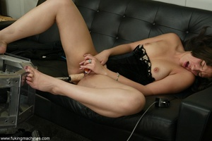 Bewitching chick knows how to feed her sexual hunger - XXXonXXX - Pic 2