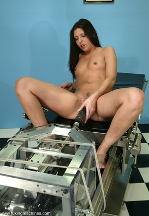 Brunette stunner can't wait to receive a wonderful orgasm - XXXonXXX - Pic 3