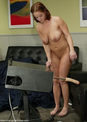 Crazy fucking machine replaces a real skilled sex partner - XXXonXXX - Pic 2