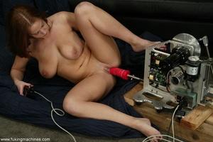 Crazy fucking machine replaces a real skilled sex partner - XXXonXXX - Pic 4