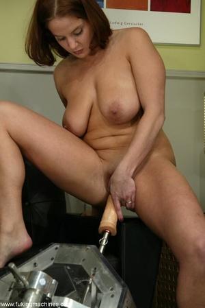 Crazy fucking machine replaces a real skilled sex partner - XXXonXXX - Pic 10