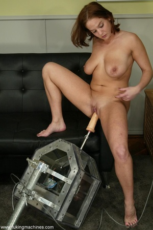 Crazy fucking machine replaces a real skilled sex partner - XXXonXXX - Pic 11