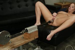 Crazy fucking machine replaces a real skilled sex partner - XXXonXXX - Pic 13