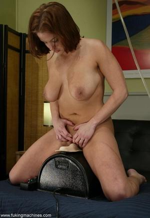 Crazy fucking machine replaces a real skilled sex partner - XXXonXXX - Pic 16