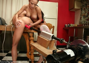 Teen hotties aren't afraid of powerful fucking machines - XXXonXXX - Pic 8