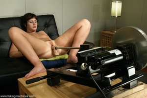 Two huge dildos enter both holes of horny MILF at once - XXXonXXX - Pic 6