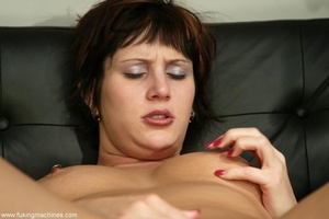 Two huge dildos enter both holes of horny MILF at once - XXXonXXX - Pic 7
