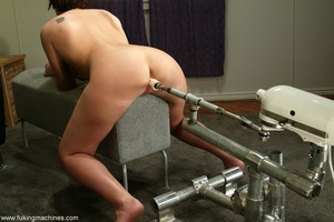 Two huge dildos enter both holes of horny MILF at once - XXXonXXX - Pic 12