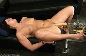 Two huge dildos enter both holes of horny MILF at once - XXXonXXX - Pic 15