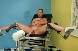 Flexible red-headed stunner wants a mechanical dildo - XXXonXXX - Pic 2