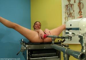 Flexible red-headed stunner wants a mechanical dildo - XXXonXXX - Pic 11