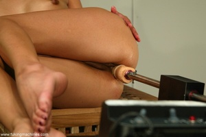 Asian slut stimulates her sensitive cunt in a hard way - XXXonXXX - Pic 17