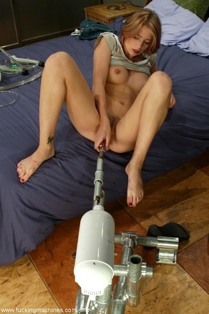 Sybian machine was just the first step of horny blonde - XXXonXXX - Pic 4