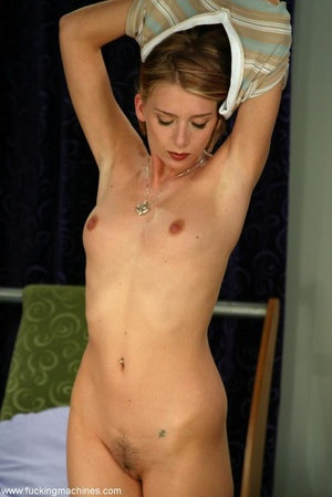 Sybian machine was just the first step of horny blonde - XXXonXXX - Pic 8