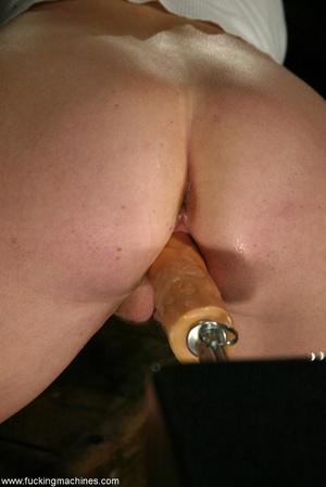 Sexy cowgirl masturbates using sex machine in the barn - XXXonXXX - Pic 9
