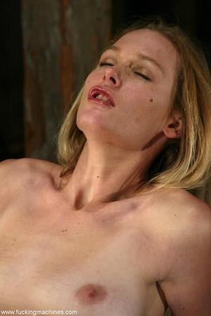 Sexy cowgirl masturbates using sex machine in the barn - XXXonXXX - Pic 16