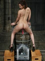 Juicy vagina of young lassie welcomes mechanized - XXXonXXX - Pic 13