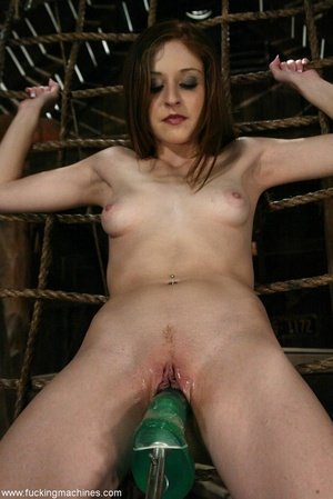 Girl with cute cowboy hat rides on top of sybian machine - XXXonXXX - Pic 15