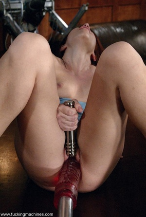 Housewife got nasty with sex machines while cleaning house - XXXonXXX - Pic 13